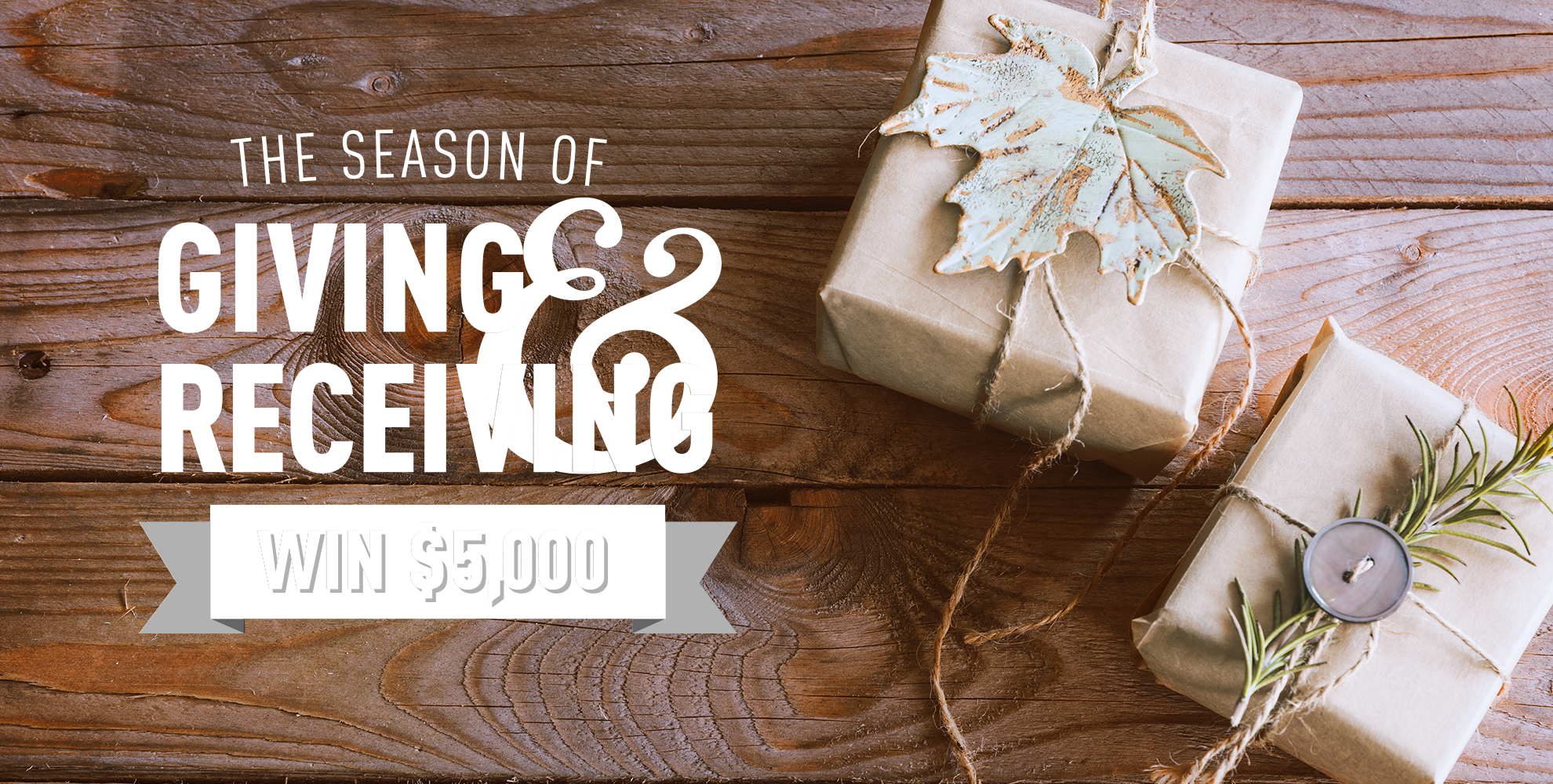 The season of giving & receiving